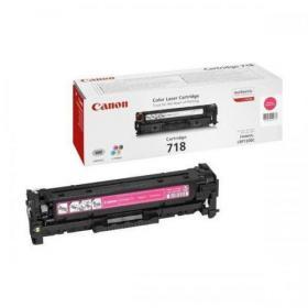 Canon 718M Laser Toner Cartridge Page Life 2900pp Magenta Ref 2660B002