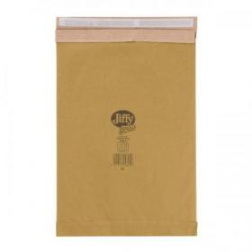 Jiffy Padded Bag Envelopes Peel and Seal Size 6 295x458mm Brown Ref JPB-6 Pack of 50