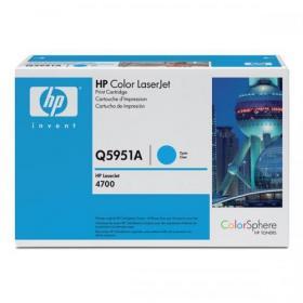Hewlett Packard HP 643A Laser Toner Cartridge Page Life 10000pp Cyan Ref Q5951A