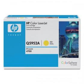 Hewlett Packard HP 643A Laser Toner Cartridge Page Life 10000pp Yellow Ref Q5952A