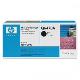 Hewlett Packard HP 501A Laser Toner Cartridge Page Life 6000pp Black Ref Q6470A