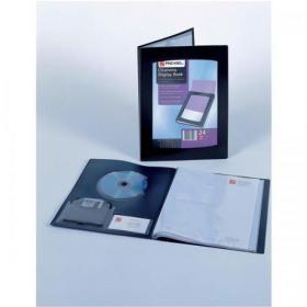 Rexel Presentation Display Book 24 Pockets A3 Black Ref 10405BK