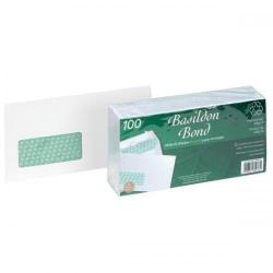 Cheap Stationery Supply of Basildon Bond Envelopes FSC Recycld Wallet P&S Window 120gsm DL 220x110mm White D80276 Pack of 100 Office Statationery