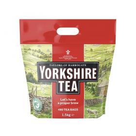 Yorkshire Tea Bags Ref 0403167 Pack of 480