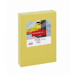 Cheap Stationery Supply of Canon (A4) 80g/m2 Coloured Multifunctional Paper (Bright Yellow) Ream-Wrapped - 500 Sheets 97002007 Office Statationery