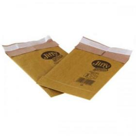 Jiffy Padded Bag Envelopes Size 0 Peel and Seal 135x229mm Brown Ref JPB-0 Pack of 200