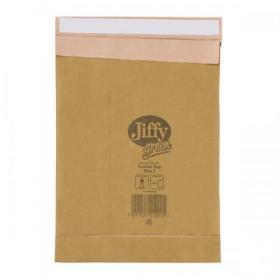Jiffy Padded Bag Envelopes Size 2 195x280mm Brown Ref JPB-2 Pack of 100