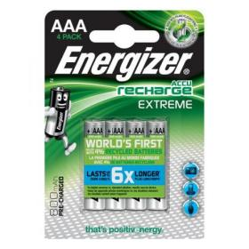 Energizer Battery Rechargeable Advanced NiMH Capacity 700mAh LR03 1.2V AAA Ref E300624400 Pack of 4