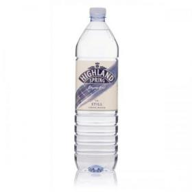 Highland Spring Water Still Bottle Plastic 1.5 Litre Ref F96652 Pack of 12