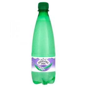 Highland Spring Water Sparkling Bottle Plastic 500ml Ref N007865 Pack of 24