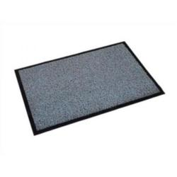 Cheap Stationery Supply of Doortex Twistermat Outdoor Mat Vinyl Fibre Surface Vinyl Back 900x1500mm Storm Grey FC490150TWISG Office Statationery