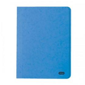 Elba StrongLine Square Cut Folder 320gsm 32mm Foolscap Blue Ref 100090020 Pack of 50