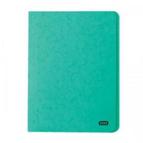 Elba StrongLine Square Cut Folder 320gsm 32mm Foolscap Green Ref 100090022 Pack of 50