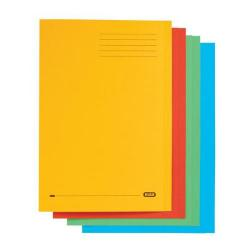 Cheap Stationery Supply of Elba StrongLine Square Cut Folder 320gsm 32mm Foolscap Assorted 100090267 Pack of 50 Office Statationery