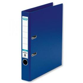 Elba Mini Lever Arch File PP 50mm Spine A4 Blue Ref 100025925 Pack of 10