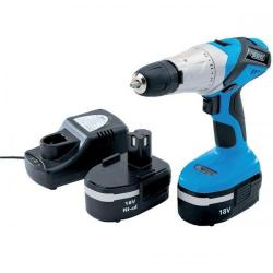 Cheap Stationery Supply of Draper Hammer Drill Cordless 2 Speed 17 Position Torque Control 18V and Charger 230V AC 40765 40765 Office Statationery
