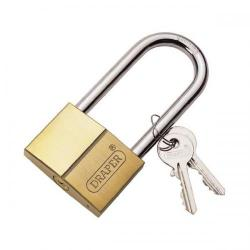 Cheap Stationery Supply of Draper (60mm) Long Shackle Padlock with Two Keys 21580 Office Statationery