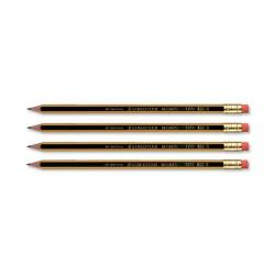 Cheap Stationery Supply of Staedtler 120 Noris Pencil with Eraser PEFC HB 122HBRT Pack of 12 Office Statationery