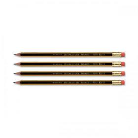 Staedtler 120 Noris Pencil with Eraser PEFC HB Ref 122HBRT Pack of 12