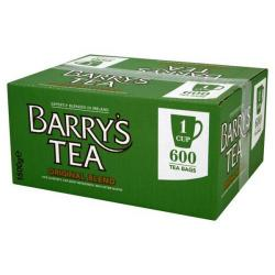 Cheap Stationery Supply of Barrys Original Green Label 1 Cup Tea Bags Pack of 600 Office Statationery