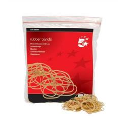 Cheap Stationery Supply of 5 Star Office Rubber Bands No.16 Each 63x1.5mm Approx 2000 Bands Bag 0.454kg Office Statationery