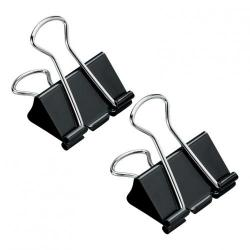 Cheap Stationery Supply of 5 Star Office Foldback Clips 32mm Black Pack of 12 Office Statationery