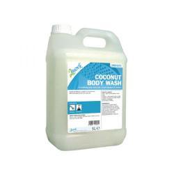 Cheap Stationery Supply of 2Work Mild Coconut Body Wash 5 Litre Bulk Bottle 2W01072 Office Statationery