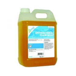 Cheap Stationery Supply of 2Work Antibacterial Foam Soap 5 Litre Bulk Bottle 2W01073 Office Statationery