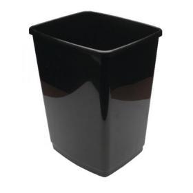 2Work Swing Bin Base Only 30 Litre Plastic Black 2W02383