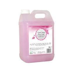 Cheap Stationery Supply of 2Work Pink Pearlised Hand Soap 5 Litre Bulk Bottle 402 Office Statationery