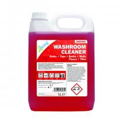 Cheap Stationery Supply of 2Work Odourless Washroom Cleaner Concentrate 5 Litre Bulk Bottle 2W03981 Office Statationery
