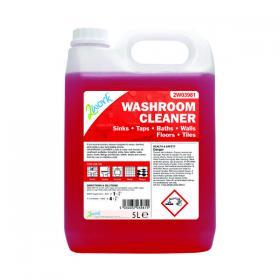 2Work Odourless Washroom Cleaner Concentrate 5 Litre Bulk Bottle 2W03981