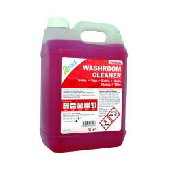 Cheap Stationery Supply of 2Work Odourless Washroom Cleaner Concentrate 5 Litre Bulk Bottle 898 Office Statationery