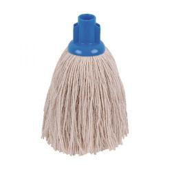 Cheap Stationery Supply of 2Work Twine Rough Socket Mop 12oz Blue (Pack of 10) 101851B Office Statationery