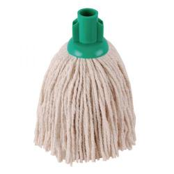 Cheap Stationery Supply of 2Work PY Smooth Socket Mop 12oz Green (Pack of 10) 101869G Office Statationery