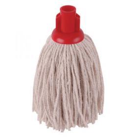 2Work PY Smooth Socket Mop 12oz Red (Pack of 10) 101869R