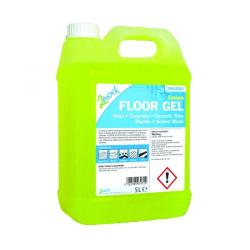 Cheap Stationery Supply of 2Work Lemon Floor Gel Concentrate 5 Litre Bulk Bottle 2W04569 Office Statationery