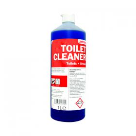 2Work Daily Use Toilet Cleaner 1 Litre (Pack of 12) 2W04577
