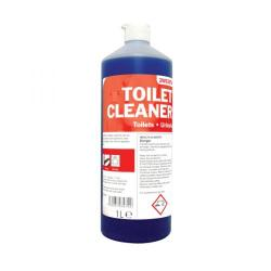 Cheap Stationery Supply of 2Work Daily Use Toilet Cleaner 1 Litre (Pack of 12) 510 PACK Office Statationery