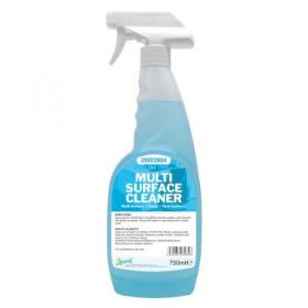 2Work Multi Surface Trigger Spray 750ml (Pack of 6) 497 PACK