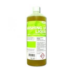 2Work Washing Up Liquid Concentrate Lemon Fragrance 1 Litre 401