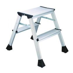 Cheap Stationery Supply of 2Work Mini 2-Step Ladder Metal 460mm L2 Office Statationery