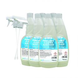 Cheap Stationery Supply of 2Work Perfumed Spray Wipe Sanitiser 750ml (Pack of 6) 211SVW Office Statationery