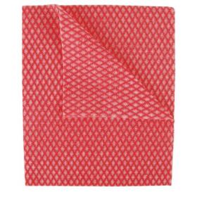 2Work Economy Cloth 420x350mm Red (Pack of 50) 104420RED