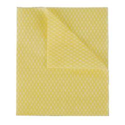 Cheap Stationery Supply of 2Work Economy Cloth 420x350mm Yellow (Pack of 50) 104420YELLOW Office Statationery