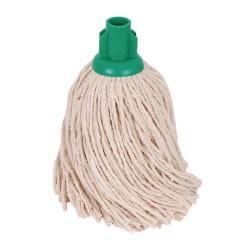 Cheap Stationery Supply of 2Work PY Smooth Socket Mop 14oz Green (Pack of 10) 103178G Office Statationery
