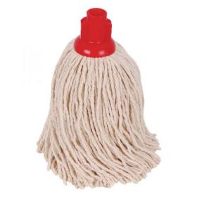 2Work PY Smooth Socket Mop 14oz Red (Pack of 10) 103178R