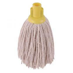 Cheap Stationery Supply of 2Work PY Smooth Socket Mop 14oz Yellow (Pack of 10) 103178Y Office Statationery