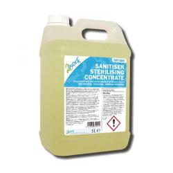 Cheap Stationery Supply of 2Work Sanitiser Sterilising Concentrate 5 Litre 260 Office Statationery