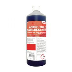 Cheap Stationery Supply of 2Work Acidic Descaling Toilet Cleaner 1 Litre 2W76002 Office Statationery